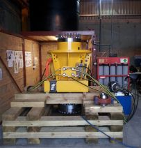 Subsea Design's use of railway sleepers