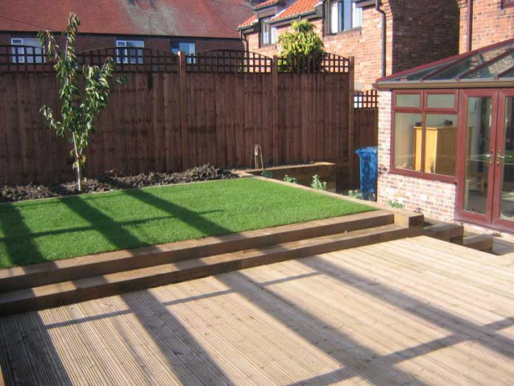 Railway sleepers for Garden designs with railway sleepers