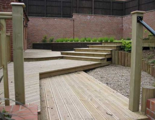 Tony Radford's decking design