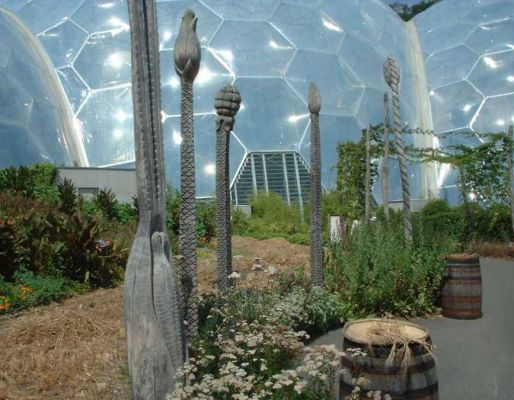 Eden Project's railway sleeper designs & other ideas
