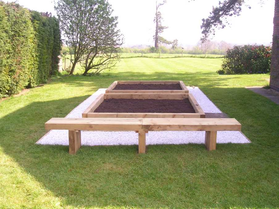Garden Furniture Made From Railway Sleepers Ftempo