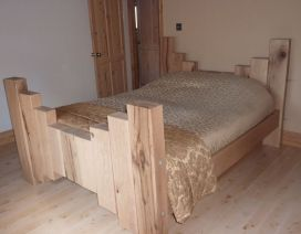 BEDS, SHELVES etc.. from railway sleepers